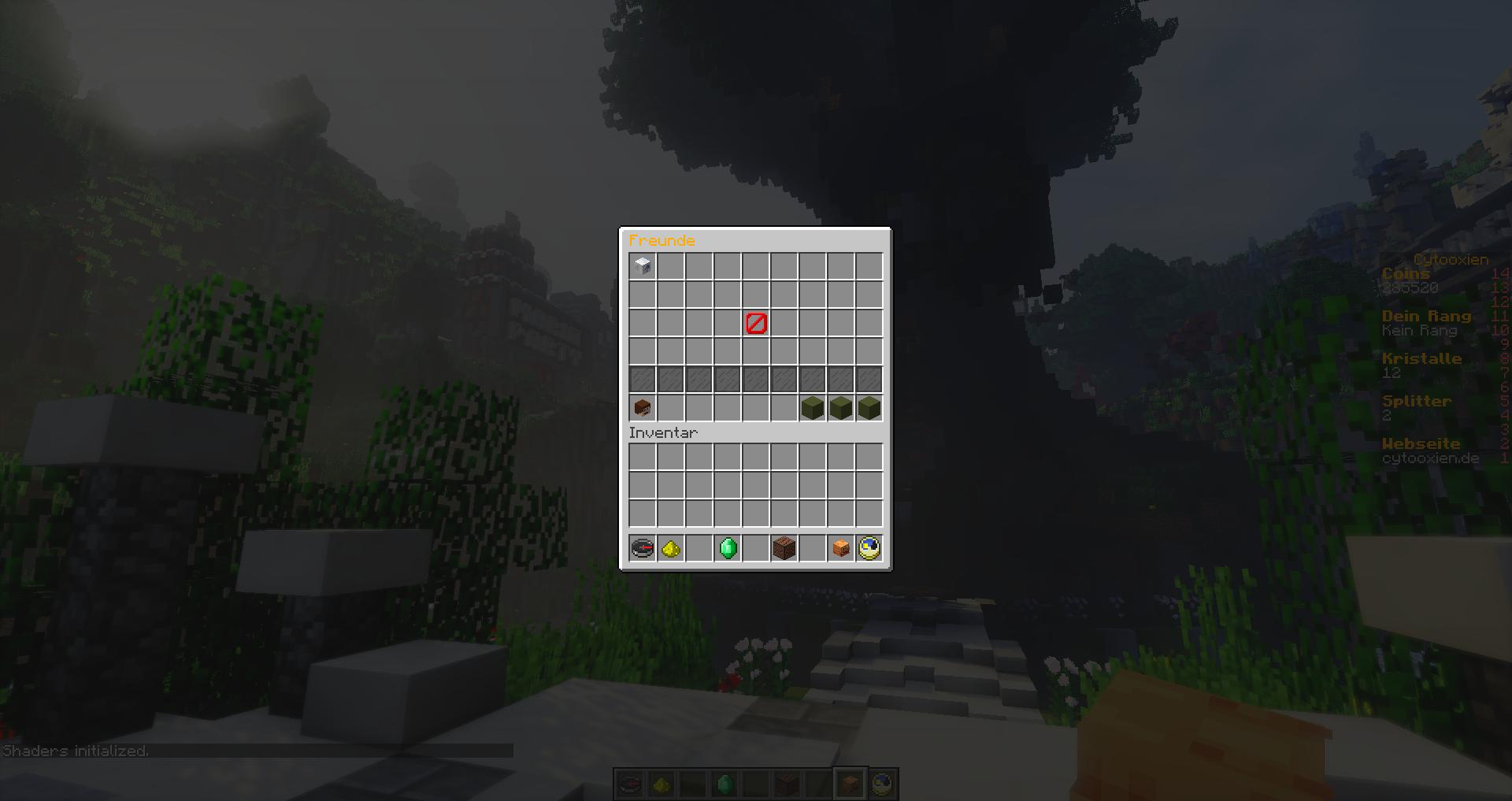 Freundesystem Cytooxien - Minecraft server erstellen mit freunden